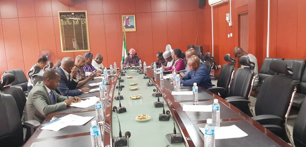 NITP meet with Federal Ministry of Works and Housing