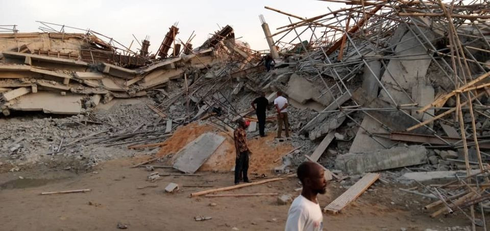 building collapse in imo